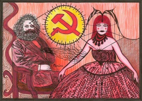 Karl_Marx_and_Ms__Universe_by_selfregion