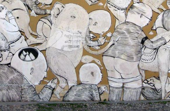 Il-murale-di-Blu-ed-Ericailcane-al-Pac-di-Milano-696x458