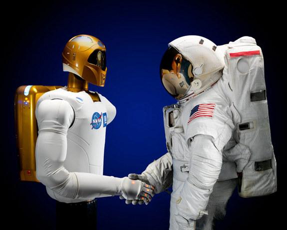 robot, industria spaziale, stampa 3D