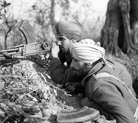 Sikh soldiers in italy 1