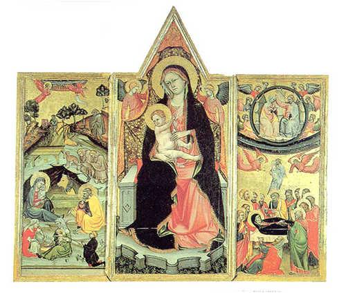 Danni al trittico di Beffi, opera custodita al Forte Spagnolo.