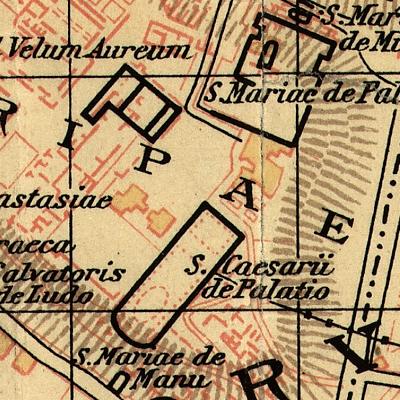 Hülsen_1927_Oratorio_di_San_Cesareo_in_Palatio