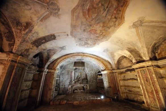 cripta chiesa dei cocchieri madonna dell'itria