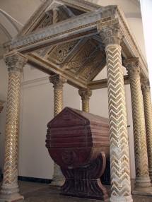 navata meridionale 20 tomba costanza altavilla